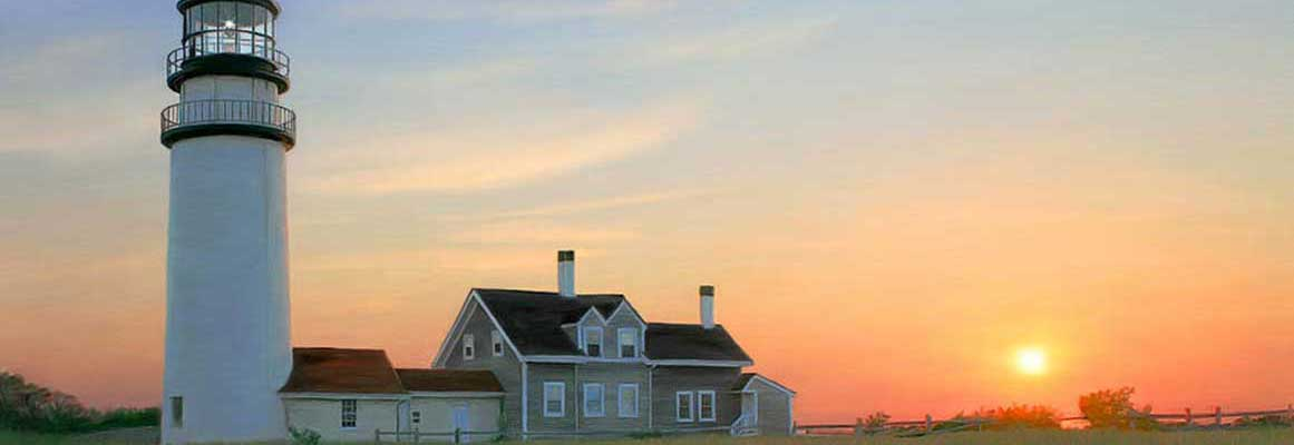 Feel safe as the sun sets with a system from Cape Cod Alarm.